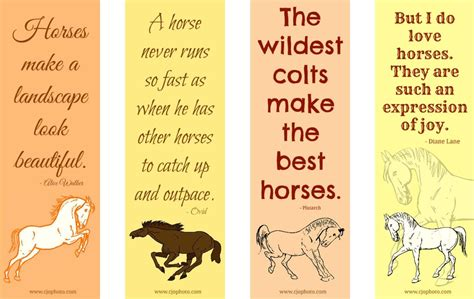 free printable horse bookmarks cjo photo printable bookmarks horses