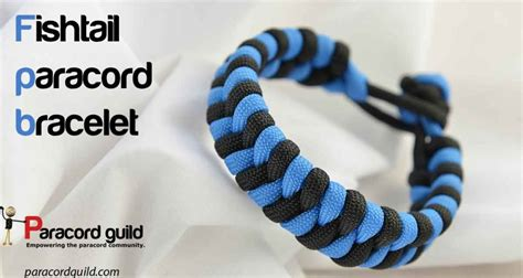 the gallery for gt how to make a fishtail paracord bracelet