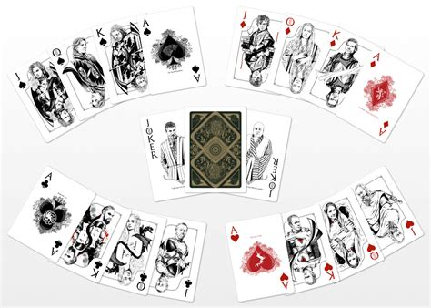 Where Can I Get An Etsy Gift Card - game of thrones playing cards project by jim tuckwell you the designer