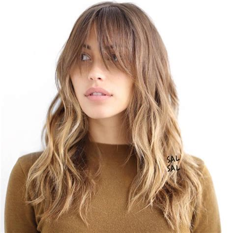 haircuts for long layered hair with bangs 20 best shag haircuts for thin hair that add body