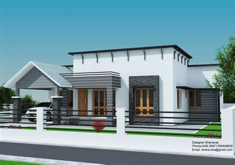 home design for plot small plot 3 bedroom single floor house in kerala with