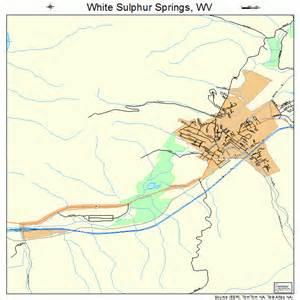 white sulphur springs west virginia map 5486812