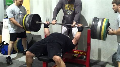 eric spoto bench eric spoto 675 x 1 raw paused bench press youtube