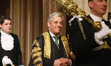 what does the speaker of the house do what is the speaker what does john bercow do politics news express co uk