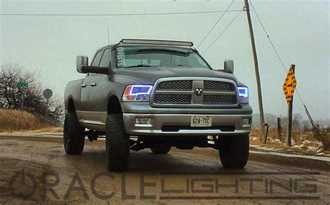 oracle lights for dodge ram oracle halo lights for dodge ram 2009 2016 dodge ram