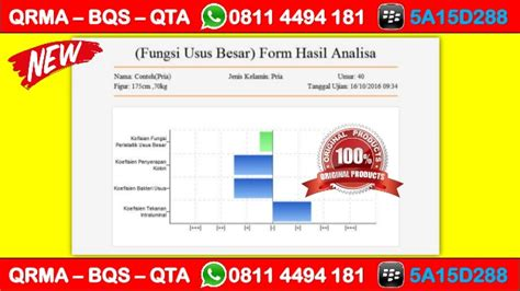 Agen Quantum Therapy Analyzer Qta promo hp wa 0811 4494 181 qrma medan quantum resonance