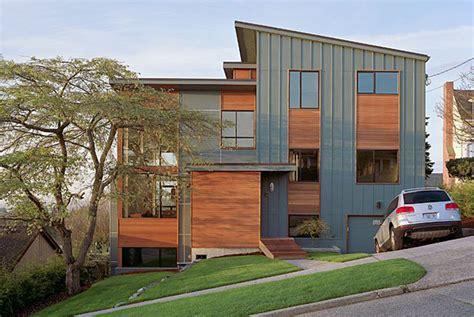 Split Level Housing modern industrial design check hatch design