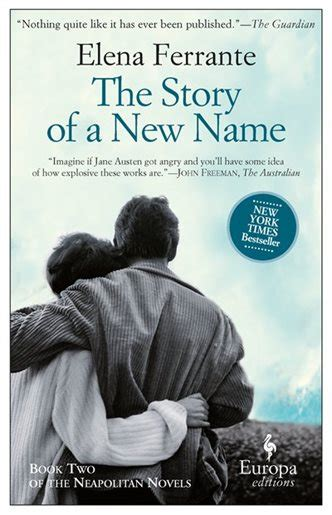 the story of a 1609451341 the story of a new name neapolitan novels book two book by elena ferrante paperback