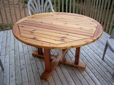 cedar patio table  jeff  lumberjockscom