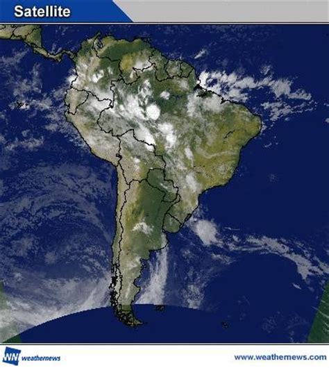 Imagenes Satelitales America Del Sur | im 225 gen satelital de am 233 rica del sur
