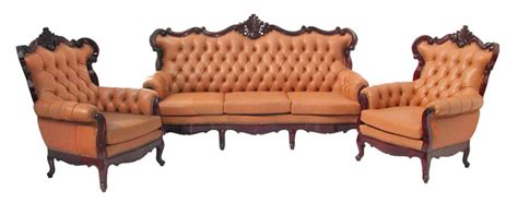queen anne couch queen anne leather sofa set