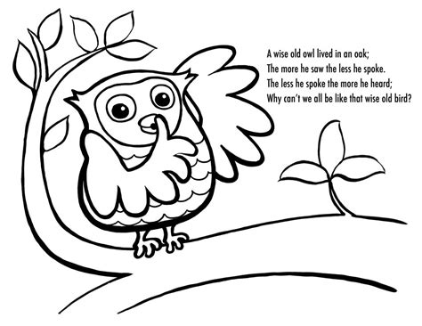 sleeping owl coloring page free printable owl coloring pages for kids