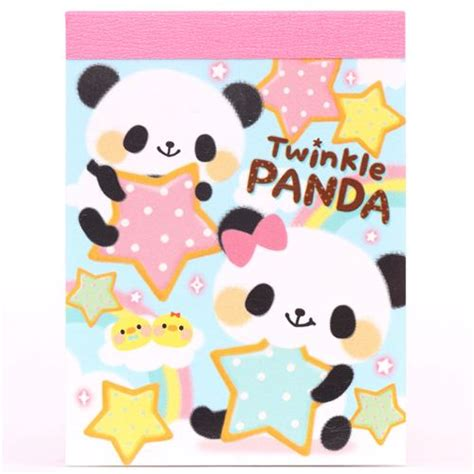 imagenes de estrellas kawaii kawaii bears panda star mini memo pad memo pads