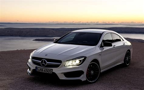 mercedes benz mercedes benz cla 45 amg wallpapers hd download