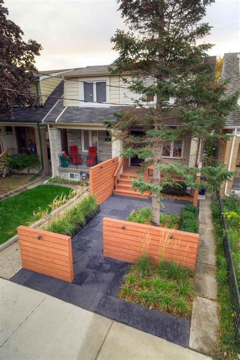 modern landscaping front yard green apple landscaping toronto on cylex 174 profile