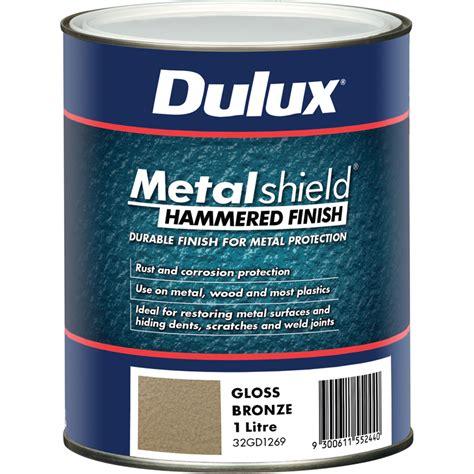 spray painter adelaide dulux metalshield 1l hammered finish bronze bunnings