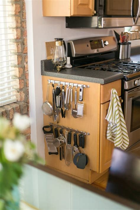clever ways   rid  kitchen counter clutter