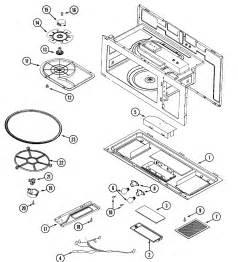 maytag microwave door parts model cmv1000adw searspartsdirect