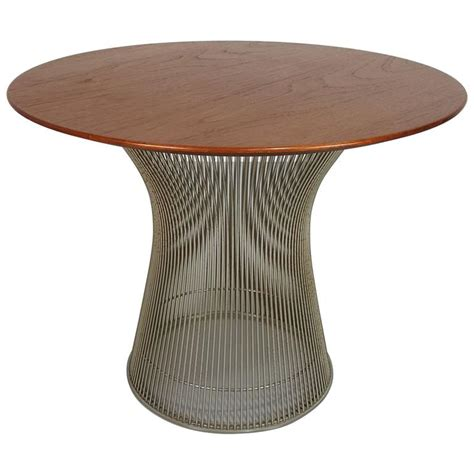 sculptural side table by warren platner table for knoll