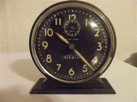 big ben chime westclox alarm rd 1931 western clock peterborough collectors weekly