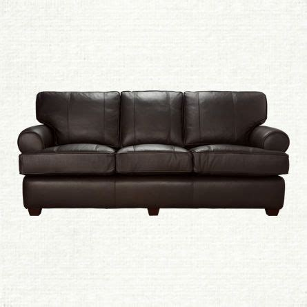 arhaus leather sofa view the hadley leather sofa from arhaus with its