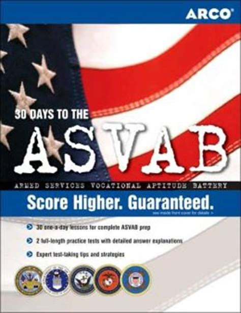 master the asvab by arco 9780768923216 paperback