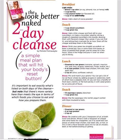 Easy Detox Plan Uk by 3 Day Workout To Lose Weight