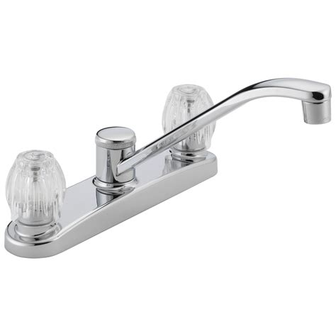 two handle kitchen faucet akomunn