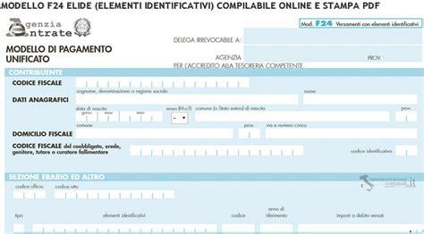 codice identificativo ufficio postale f24 elide come compilarlo correttamente guida