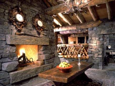 rustic stone fireplaces rustic stone fireplaces log cabin stone fireplace log