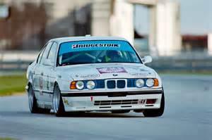 bmw m5 sedan imsa race car e34 1991