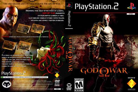 film god of war ps 2 god of war ps2 playstation 2 box art cover by ayrton carlos