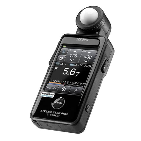 Sekonic L 478dr Litemaster Pro Light Meter Amazon Co Uk