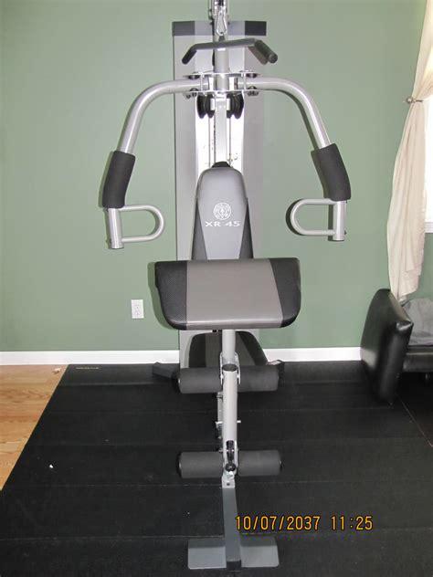 Golds Xr45 Home Lats Workout Chart New Calendar Template Site