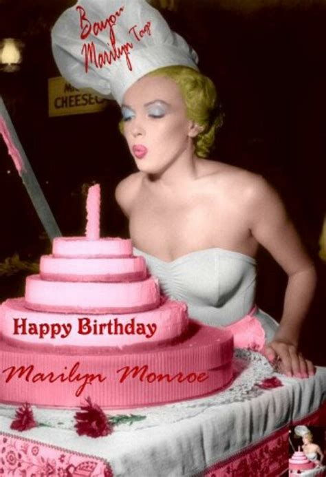Marilyn Birthday Card 14 Best Marilyn Monroe Birthday Wishes Images On Pinterest