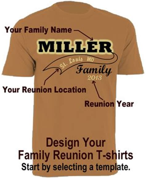 family reunion shirt templates 17 best images about family reunion shirt ideas on