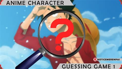 anime guessing anime character guessing ep 1