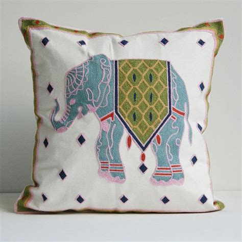 Decorative Elephant Pillows by Decorative Throw Pillow Elephant Home Office Room