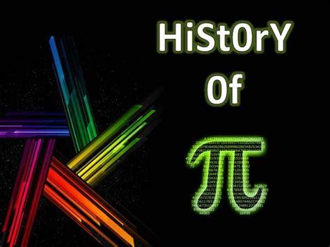 the history of history of pi authorstream