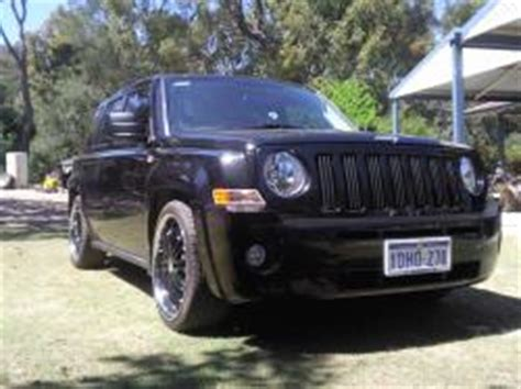 Lowered Jeep Patriot The Gallery For Gt Jeep Patriot Lowered