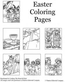 coloring pages jesus resurrection empty 171 crafting the word of god