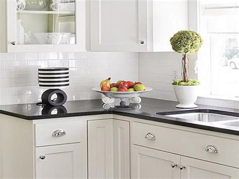backsplash for black and white kitchen black and white kitchen backsplash tile ideas home