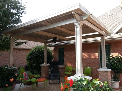 Traditional Style Louvered Roof System with Fascia Gutter