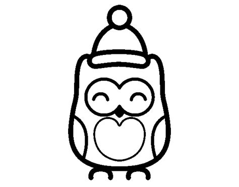 holiday owl coloring page christmas owl coloring page coloringcrew com