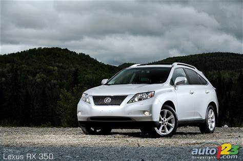 2010 lexus rx350 review auto123 new cars used cars auto shows car reviews
