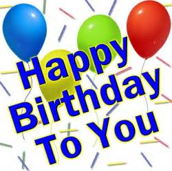 happy birthday to you clipart best