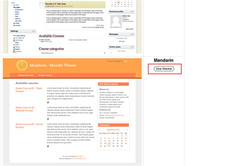 moodle add themes how to install a new moodle theme elearning themes
