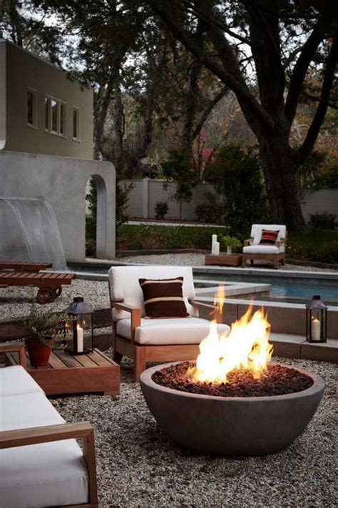 22 stunning outdoor fire pits for cozy backyard home design and interior