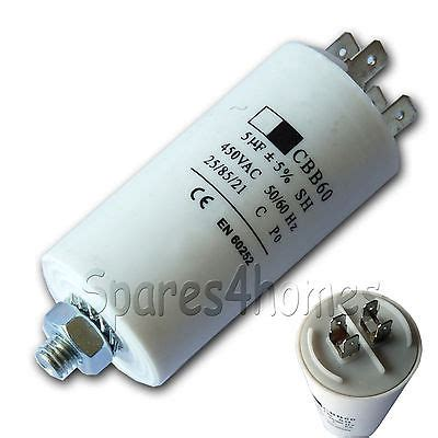 capacitor machine 5uf capacitor 5 mfd washing machine tumble dryer dishwasher fridge freezer