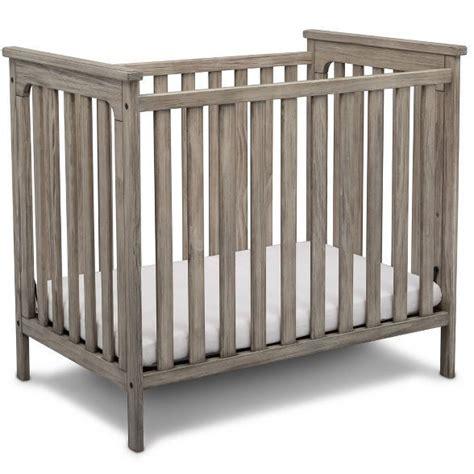 simmons kids monterey mini crib  mattress rustic